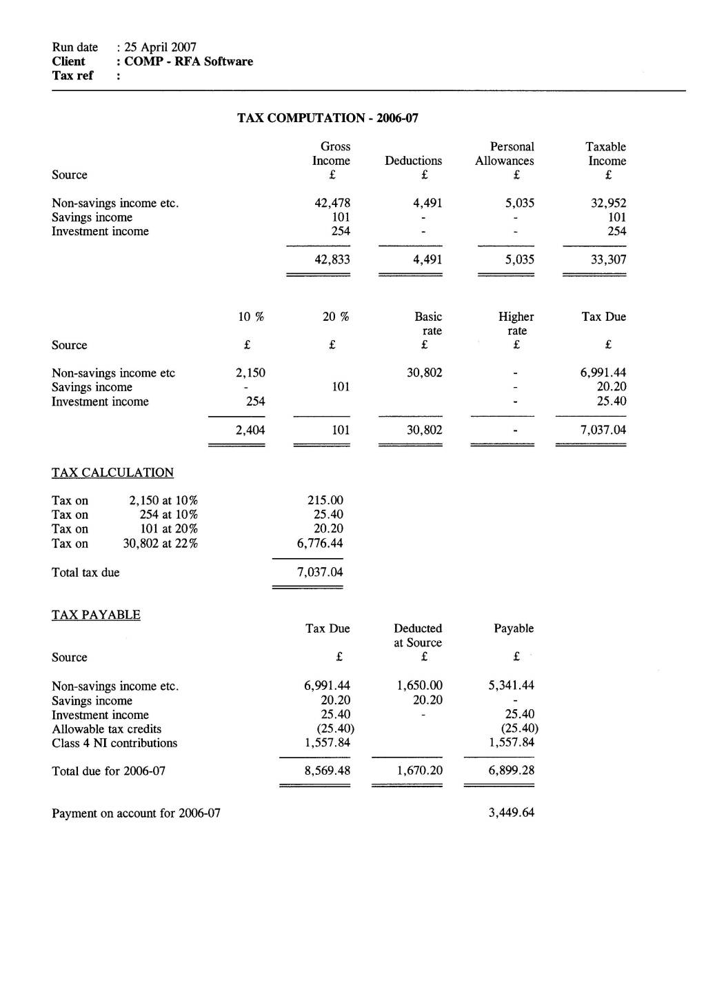 Tax Computation Worksheet in addition small business balance sheet ex
